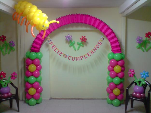 Imagenes de globos en formas de arcos ideas consejos for Decoracion hogares infantiles