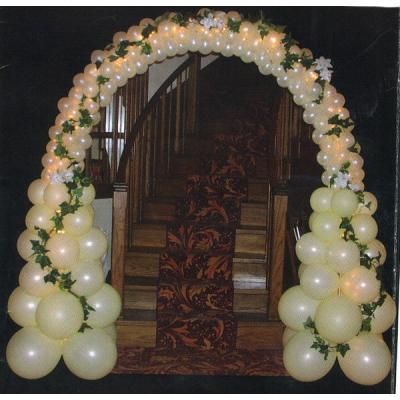 Imagenes de globos en forma de arcos 2 parte ideas for Arreglos con globos para boda en jardin