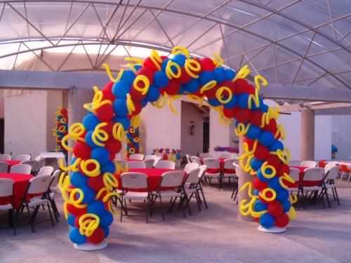 Arcos De Globos Para Fiestas