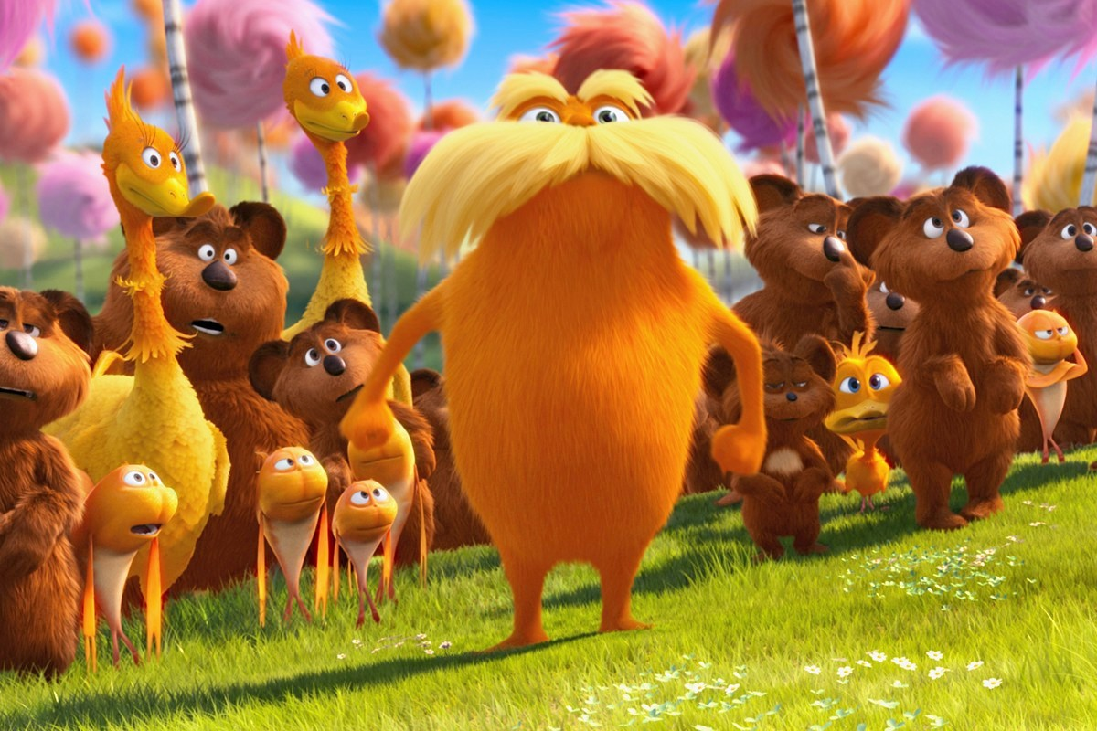 Wallpapers el lorax .En La Busca De La Trufula Perdida (The Lorax ...