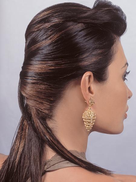 Pin peinados recogidos paso para fiesta consejos trucos - Consejos de peinados ...