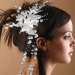 Peinados recogido para novias
