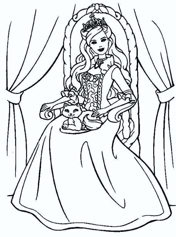 Dibujos Para Colorear De Princesas « Ideas & Consejos
