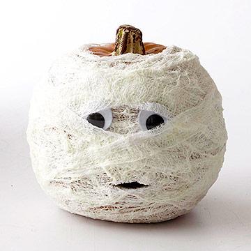 Como hacer una calabaza momia para Halloween « Ideas & Consejos
