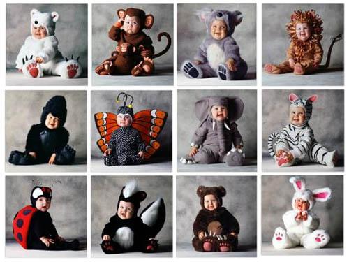 ideas de disfrases de animales para bebes