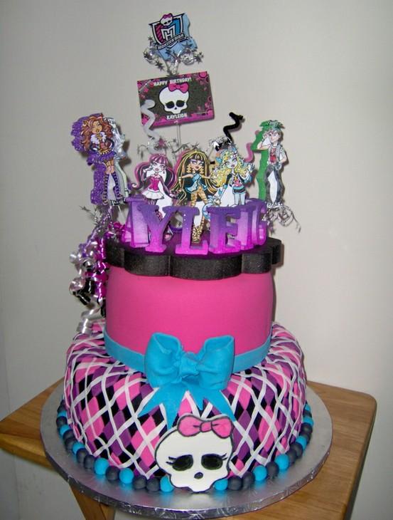 De Pasteles De Monster High   Si Quieres Un Bonito Pastel Para