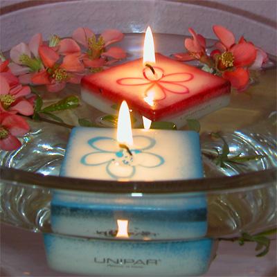 Centros de mesa para boda con velas flotantes ideas consejos - Centro mesa velas ...