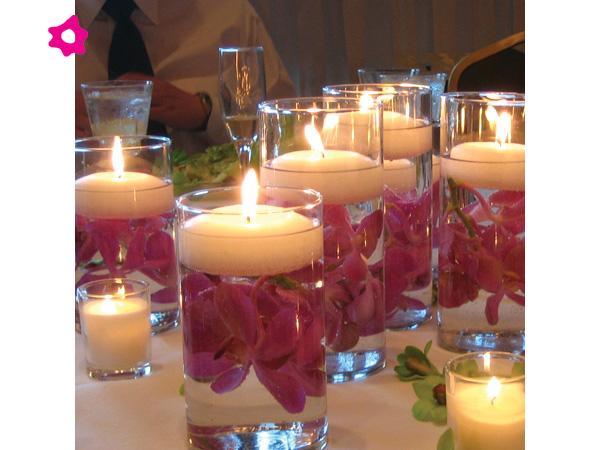 ideas de centros de mesa para bodas/ centerpieces ideas