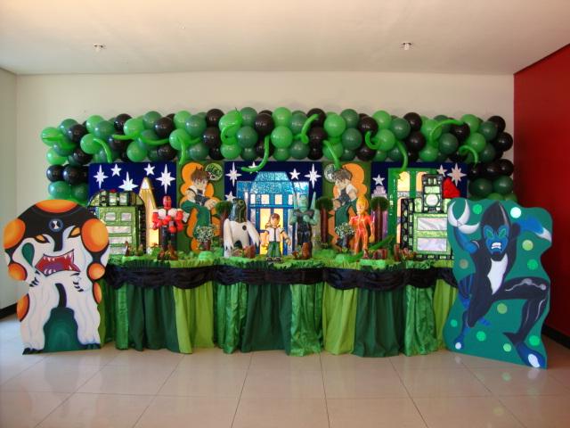 ideas para decoraci n de fiesta ben 10 ideas consejos