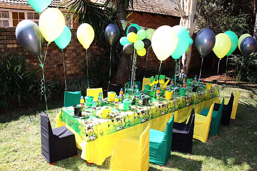 Ideas para decoraci n de fiesta ben 10 ideas consejos - Manteles infantiles para cumpleanos ...