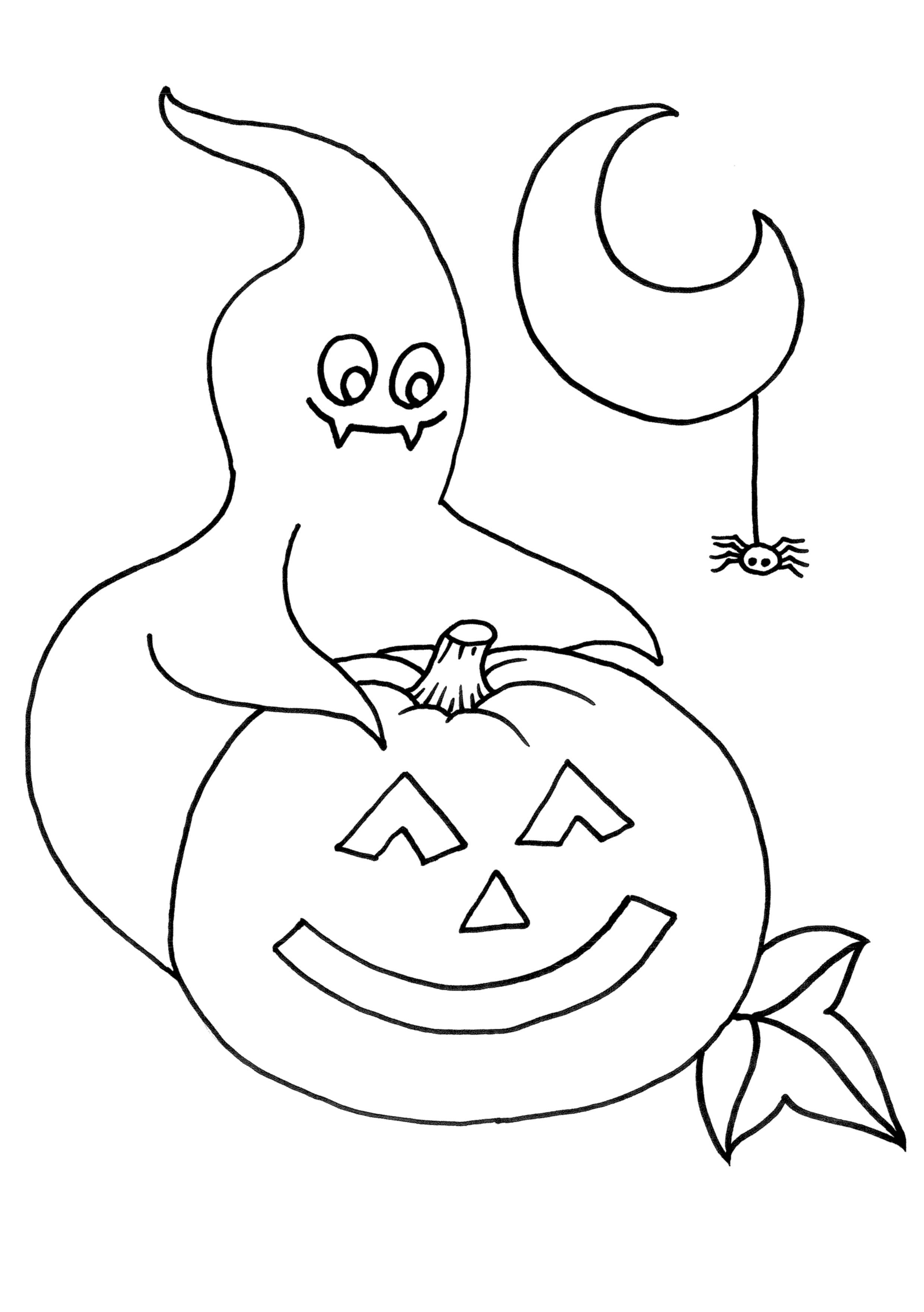 Dibujos Para Imprimir Y Colorear De Halloween « Ideas ...