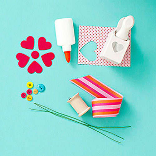 como hacer flores de cartulina para decorar « Ideas & Consejos ...