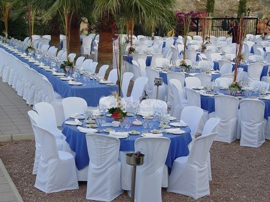 Imagenes de mesas azules de bodas ideas consejos for Mesas de bodas