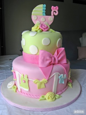 pastel para baby shower