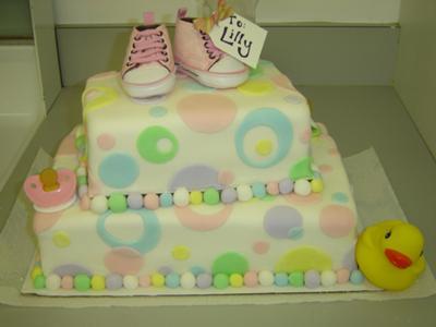 Decoracion De Pasteles Para Baby Shower Pastel Para Baby Shower