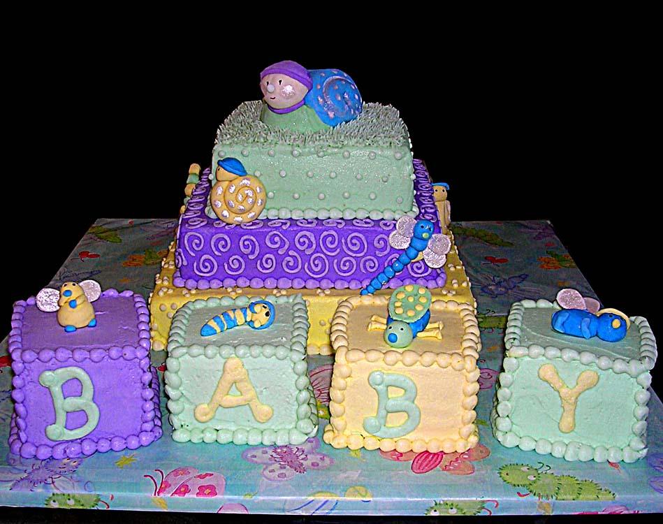 fotos de ricos pasteles de baby shower muchas im genes