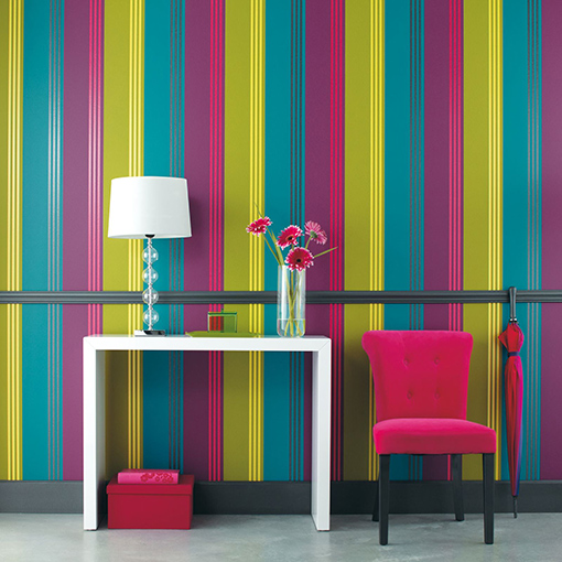 Como decorar paredes con rallas ideas consejos ideas - Colores para paredes interiores ...