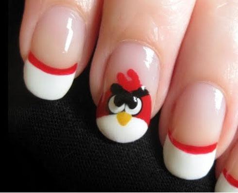 Imagenes De Uñas Decoradas De Los Angry Birds Ideas Consejos