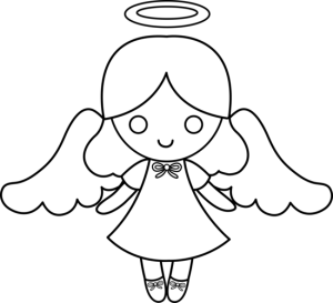 Dibujos gratis para colorear de angeles ideas consejos for Dibujos sencillos de navidad