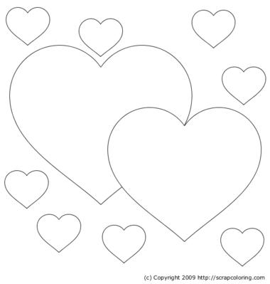 Dibujos para colorear gratis de corazones « Ideas & Consejos - Ideas ...
