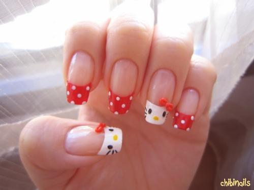 Uñas decoradas con diseños de Hello Kitty « Ideas & Consejos ...
