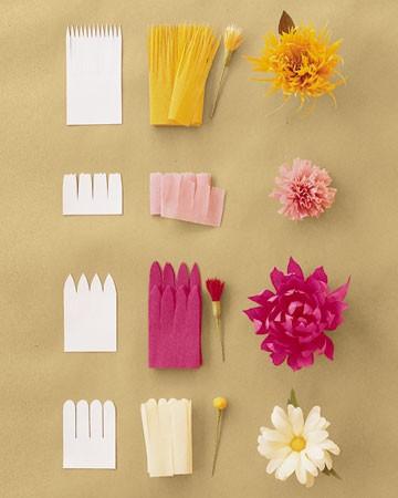 Como Hacer Flores Diferentes Con Papel Crepe Ideas Consejos