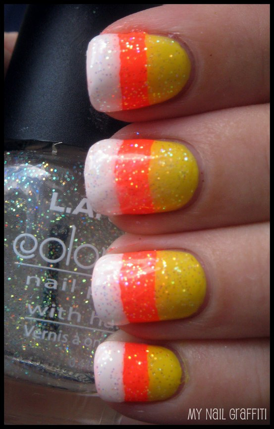 u as decoradas de candy corn para halloween este halloween haz parte