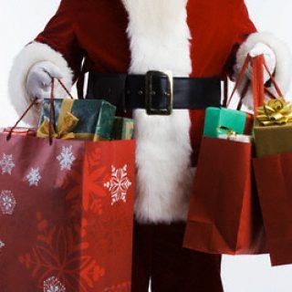 las compras navideñas