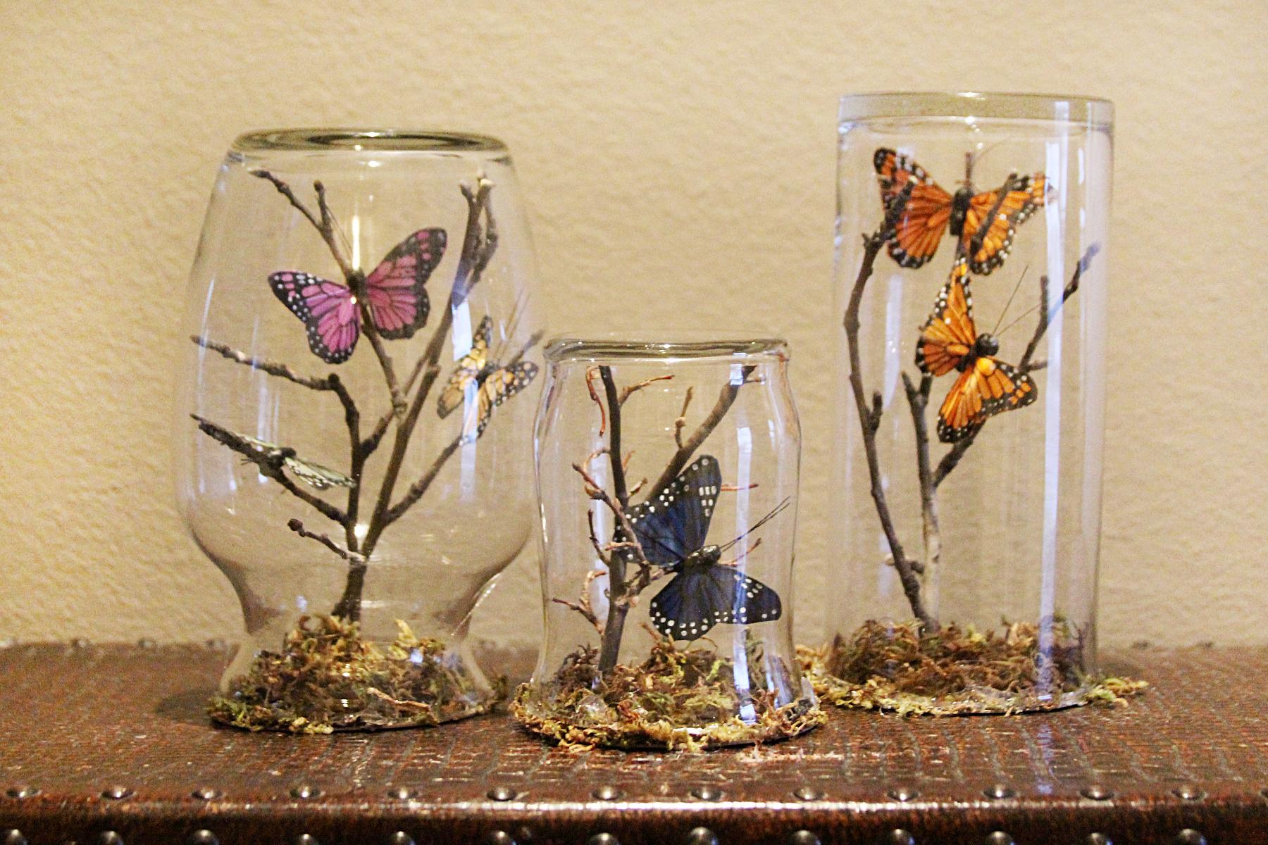Como Hacer Oasis De Mariposas En Frascos De Vidrio Ideas Consejos Ideas Consejos