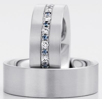 alianza boda diamante