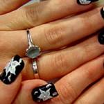 Flores para uñas