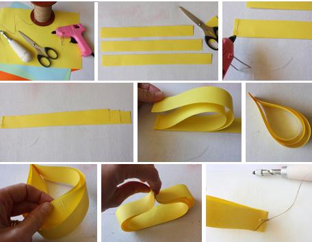 manualidad papel 3d