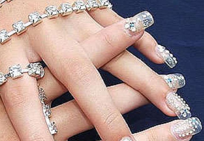 uñas acrilicas transparentes uñas acrilicas postizas uñas acrilicas moda uñas acrilicas piedras