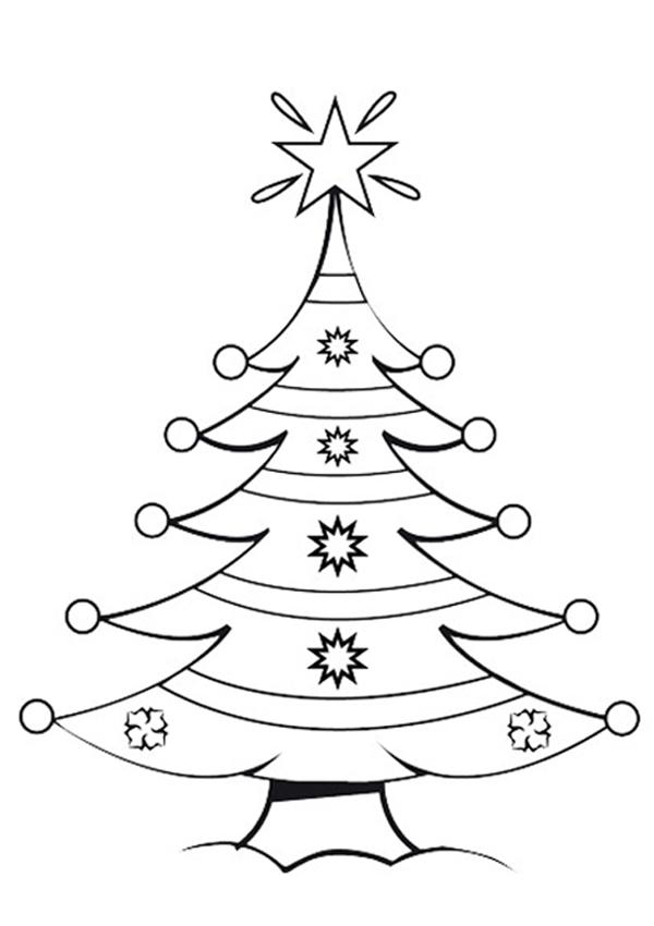 Dibujos para colorear de navidad ideas consejos for Dibujo arbol navidad