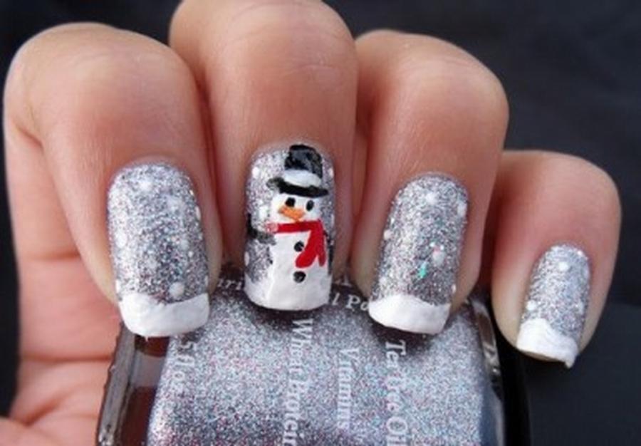 decoracion de uñas para invierno