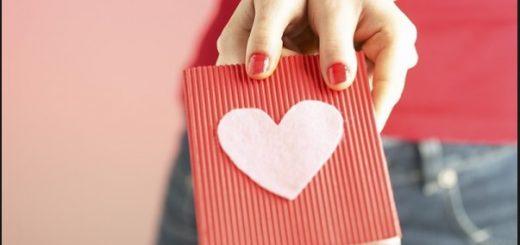 Como hacer una postal de amor