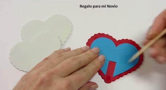 manualidad corazon