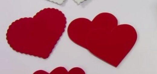 manualidades de corazones de amor